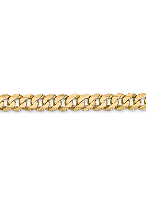 Belk & Co. Mens 14K Yellow Gold 4.75