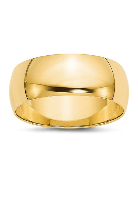 Belk & Co. Mens 14K Yellow Gold 8