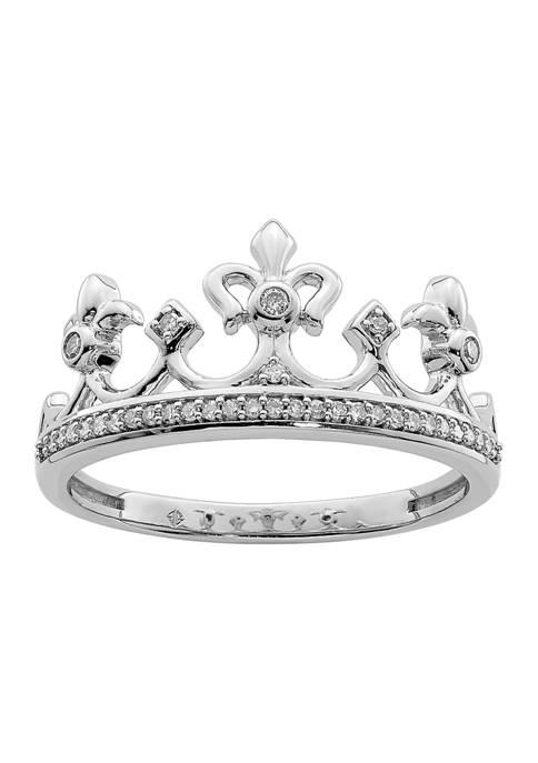 Belk & Co. 1/8 ct. t.w. Diamond Crown