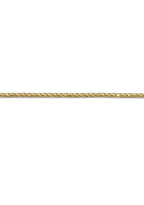 Belk & Co. 14K Yellow Gold 1 Millimeter