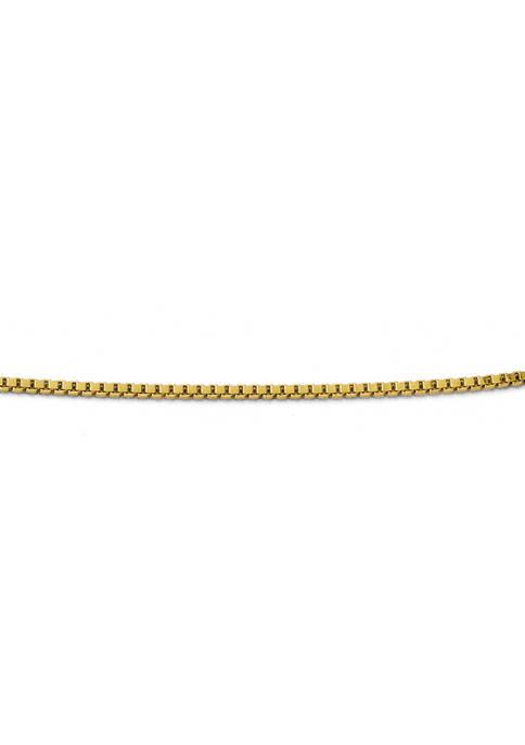 Belk & Co. 14K Yellow Gold 1 mm