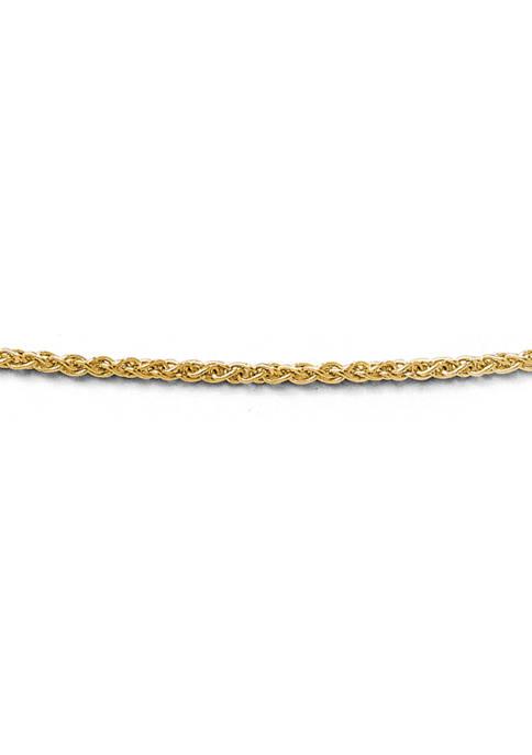 Belk & Co. 14K Yellow Gold 1.4 Millimeter