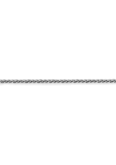 Belk & Co. 14K White Gold 1 Millimeter