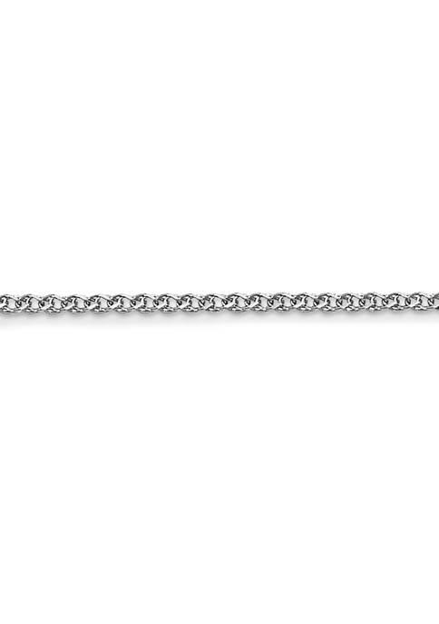 Belk & Co. 14K White Gold 1.2 Millimeter