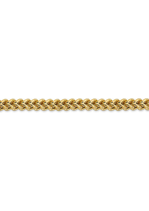 Belk & Co. Mens 14K Yellow Gold 4.5