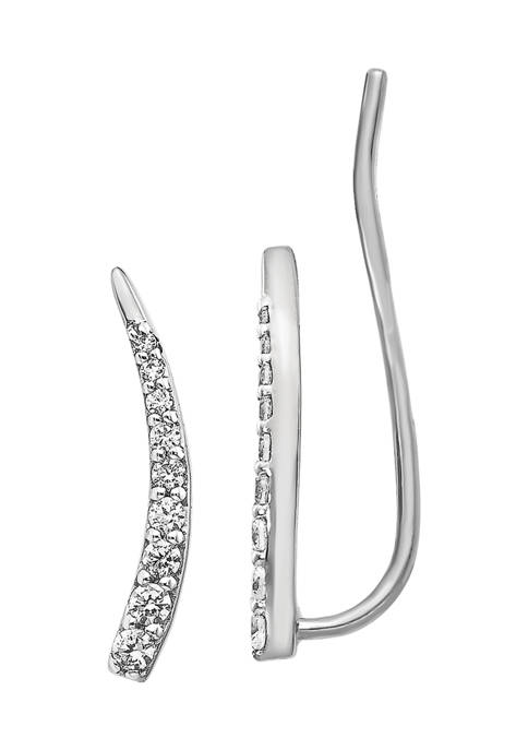 1/6 ct. t.w. Diamond Earrings in 14K White Gold