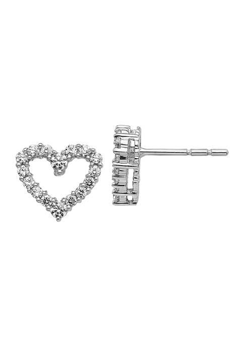 Belk & Co. 1/2 ct. t.w. Diamond Heart