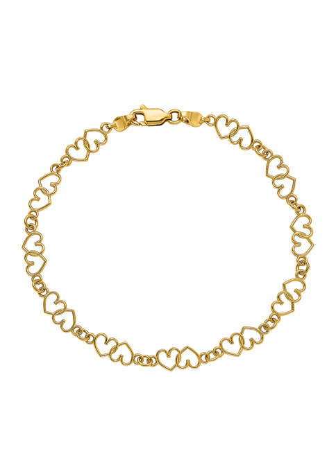 Belk & Co. 14K Yellow Gold Cut-Out and