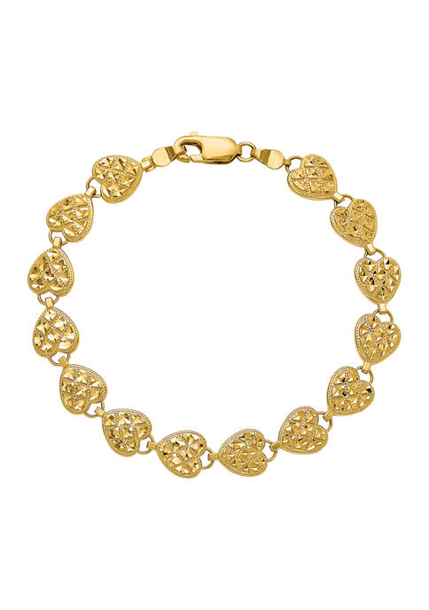 Belk & Co. 14K Yellow Gold Polished Diamond