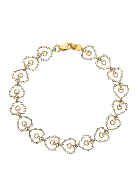 Belk & Co. 14K Yellow Gold and White