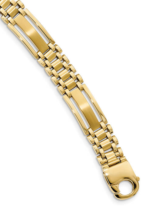 Belk & Co. Mens 14K Yellow Gold Polished
