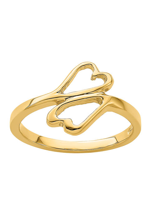 Belk & Co. 14K Yellow Gold High Polished