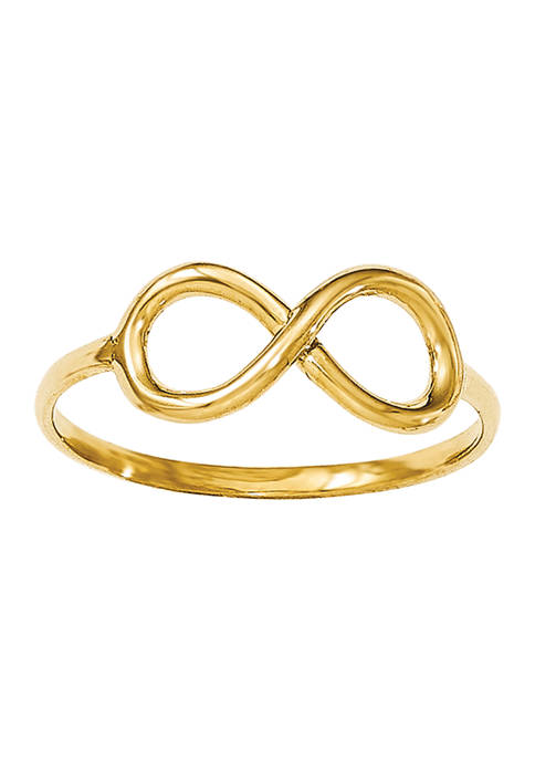 Belk & Co. 14K Yellow Gold Polished Infinity