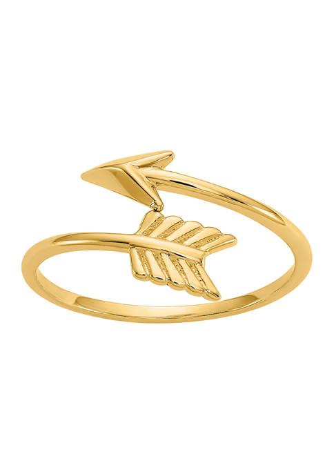 Belk & Co. 14K Yellow Gold Polished Arrow