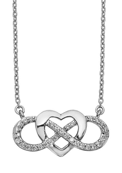 Belk & Co. 1/5 ct. t.w. Diamond Infinity