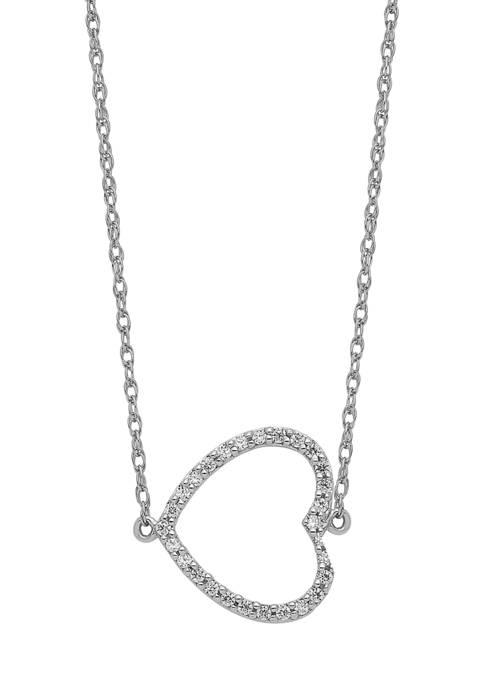 Belk & Co. 1/6 ct. t.w. Sideways Diamond