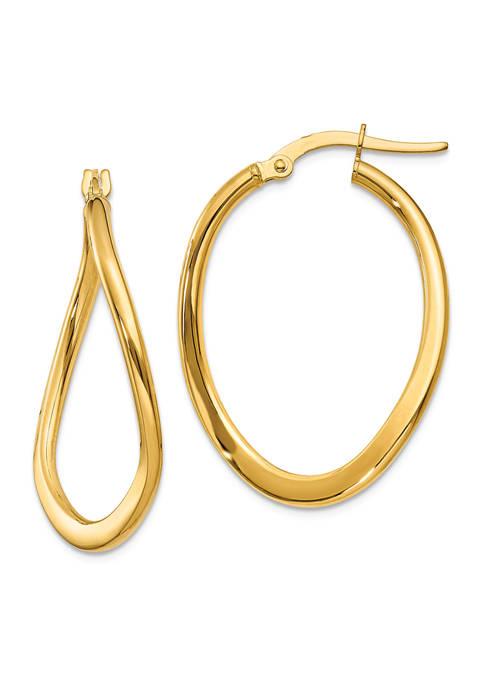 Belk & Co. 14K Yellow Gold 2 Millimeter