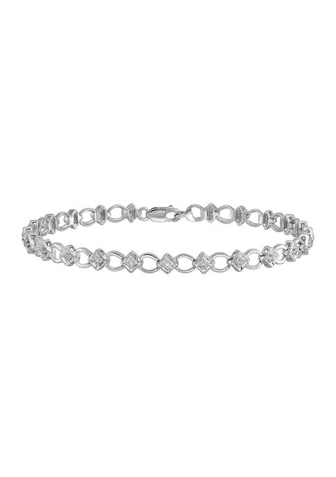 Belk & Co. 1/6 ct. t.w. Diamond Bracelet