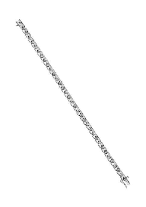 Belk & Co. 1/8 ct. t.w. Diamond Bracelet