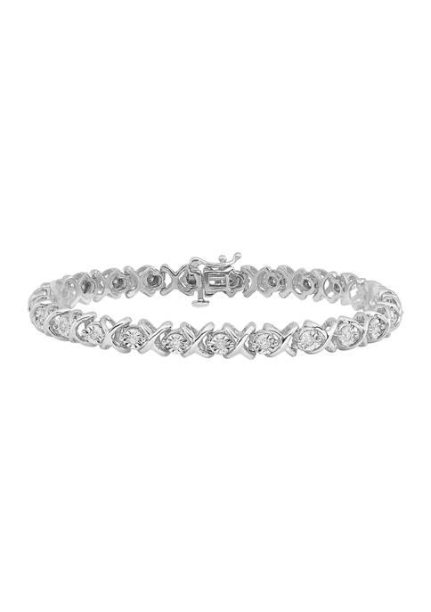 Belk & Co. 1/2 ct. t.w. Diamond Bracelet