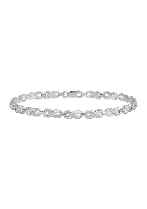 Belk & Co. 1/4 ct. t.w. Diamond Bracelet