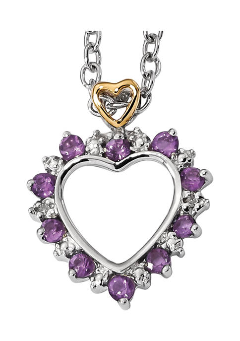 Belk & Co. 3/8 ct. t.w. Amethyst and