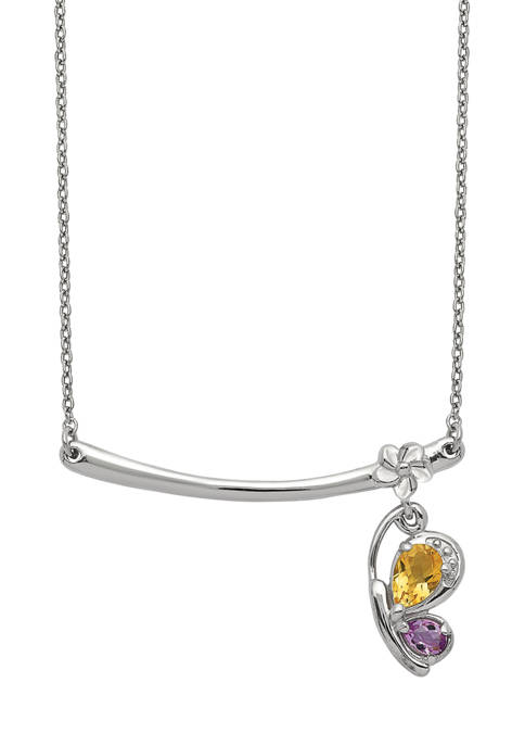 Belk & Co. 1/3 ct. t.w. Citrine and