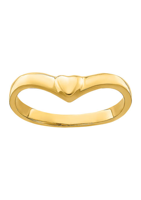 Belk & Co. 14K Yellow Gold V Shape