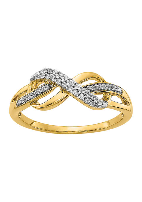 Belk & Co. 1/10 ct. t.w. Diamond Infinity