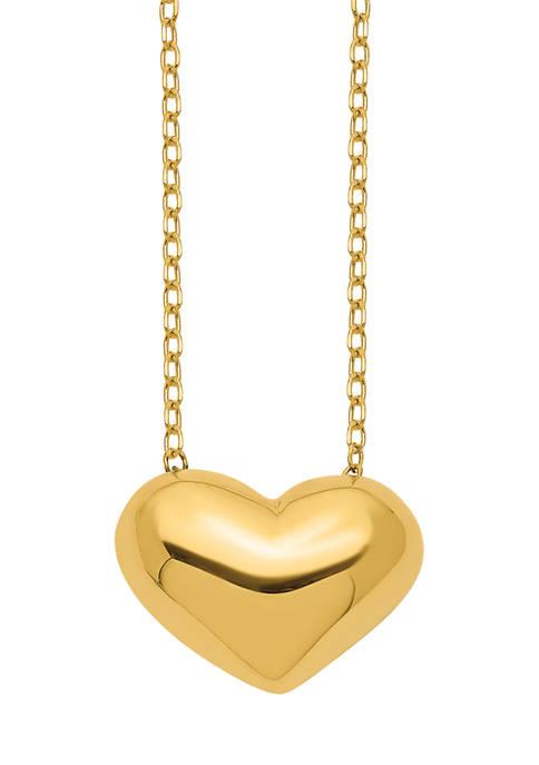 Belk & Co. 14K Yellow Gold Polished Puffed