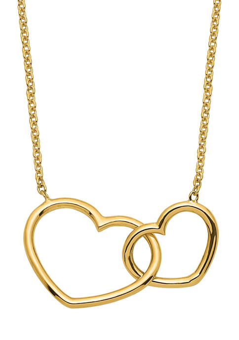Belk & Co. 14K Yellow Gold Polished Double