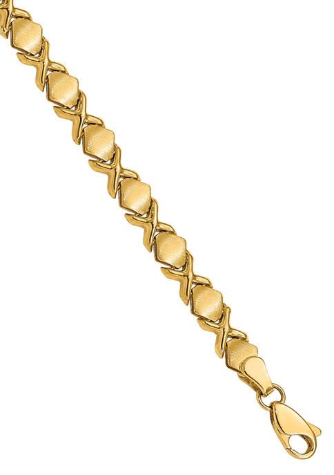 Belk & Co. 7 Inch Fancy Bracelet in