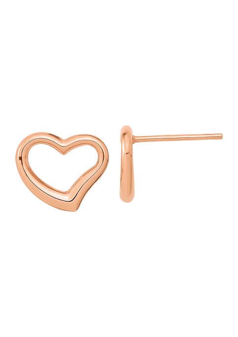 Belk & Co. 14K Rose Gold Polished Heart