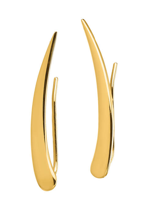 Belk & Co. 14K Yellow Gold Polished Pointed