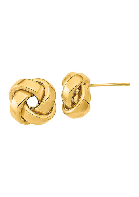 Belk & Co. 14K Yellow Gold Polished Love