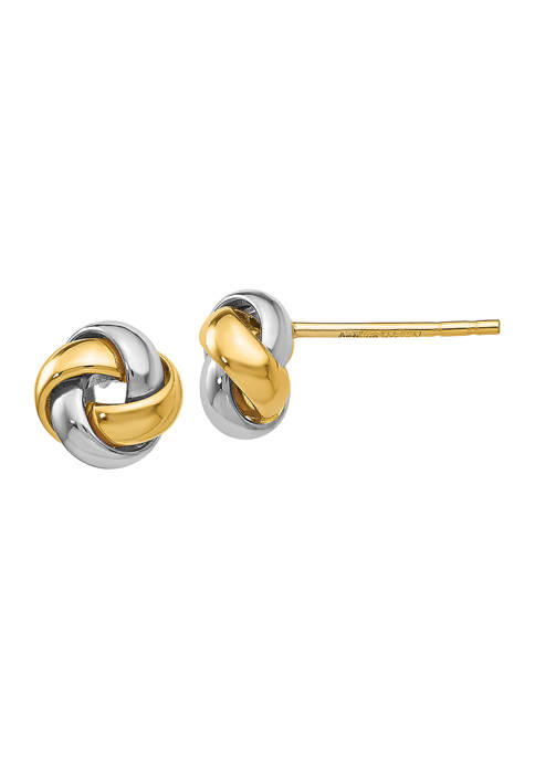 Belk & Co. 14K Yellow and White Gold