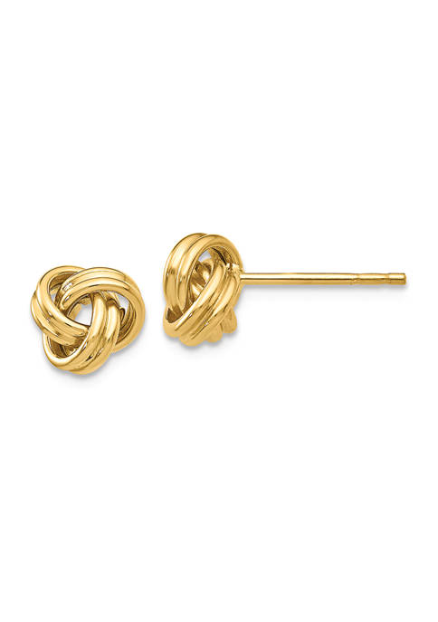 Belk & Co. 14K Yellow Gold Love Knot