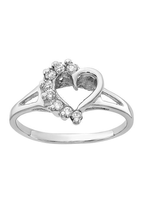 Belk & Co. 1/8 ct. t.w. Diamond Ring