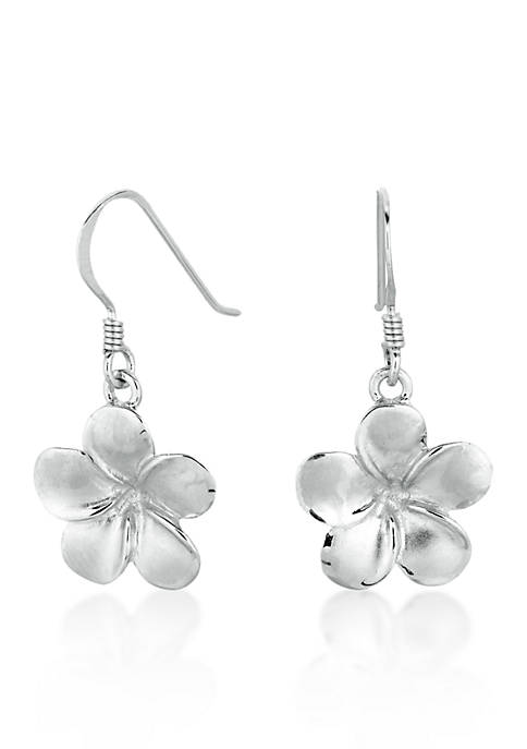 Belk & Co. Sterling Silver Flower Earrings