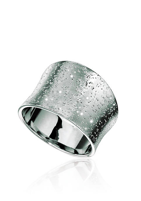 Sterling Silver Stardust Ring