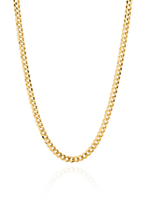 Belk & Co. 14k Yellow Gold Curb Chain