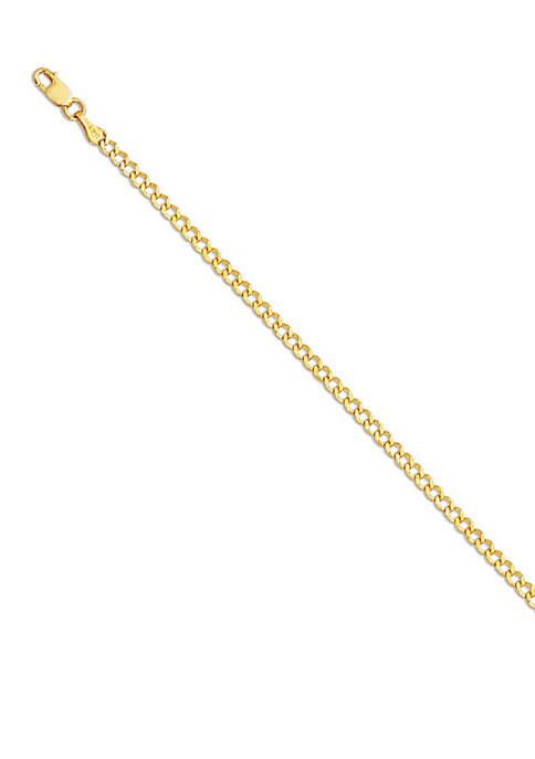 Belk & Co. 14k Yellow Gold Curb Link