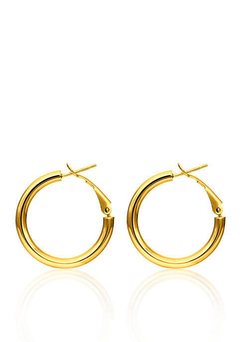 Belk & Co. 14k Yellow Gold Hoop Earring