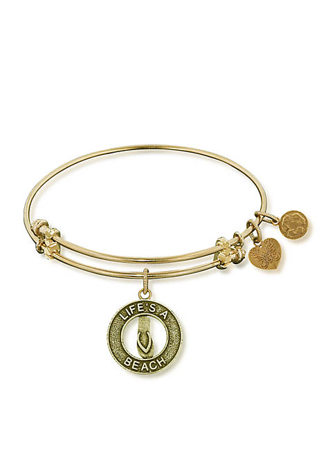 Angelica Lifes a Beach Expandable Bangle
