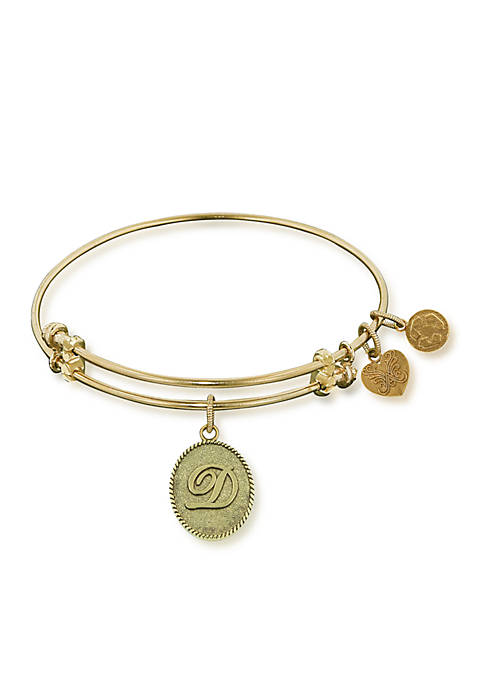 Angelica D Initial Expandable Bangle