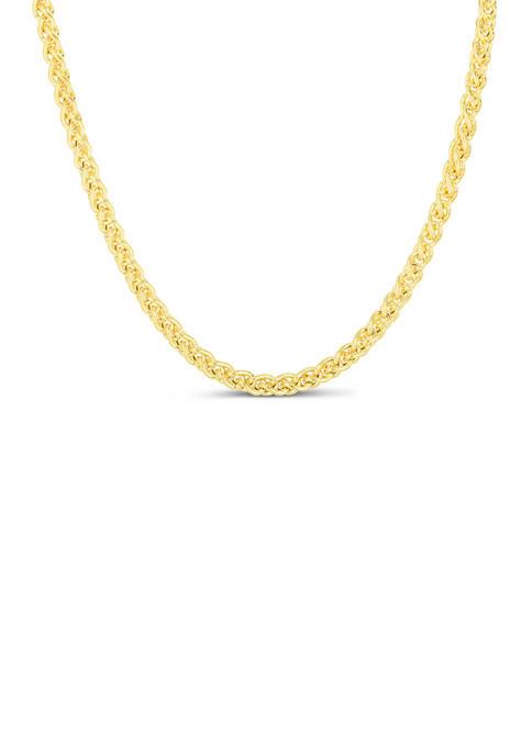Belk & Co. Mens 24 Inch 14k Gold