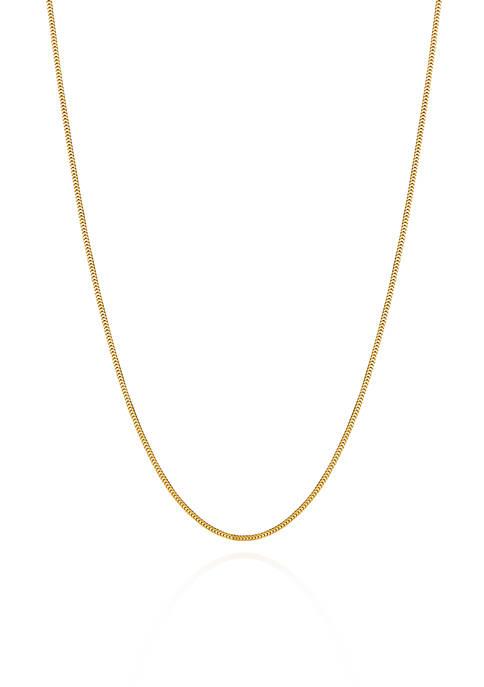 Belk & Co. 14k Yellow Gold Milano Chain