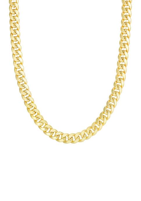 Belk & Co. Mens Gold Semi Solid Miami