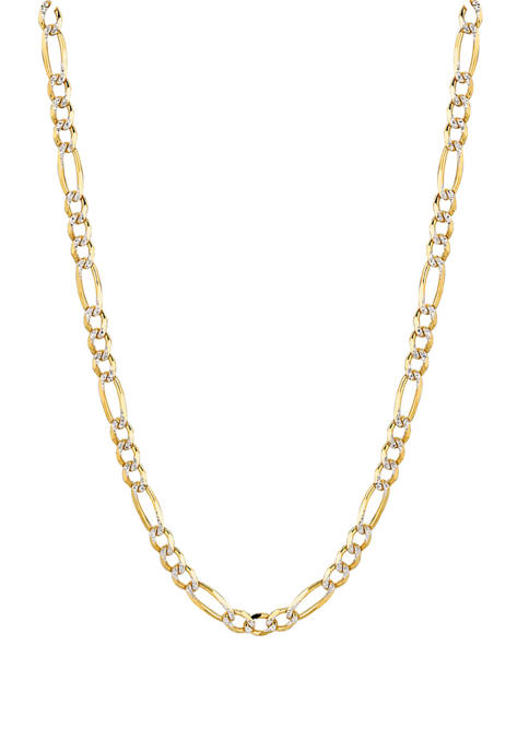 Belk & Co. Pave Figaro Chain Necklace in