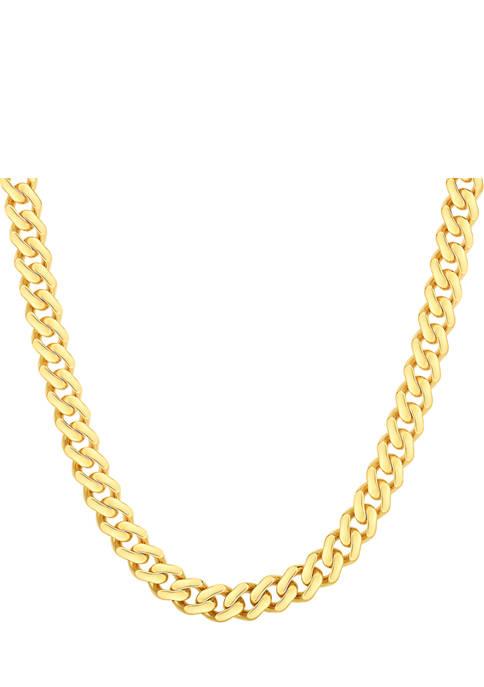 Pave Curb Necklace